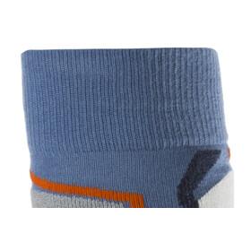 Falke SK2 Wool Skiing - Calcetines Hombre - gris/azul